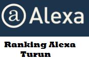 7 Penyebab Ranking Alexa Blog Turun dan Cara Mengatasinya