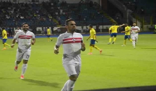 الزمالك يصالح الجماهير في مباراة وداع البطولة العربية بالفوز علي النصر السعودي