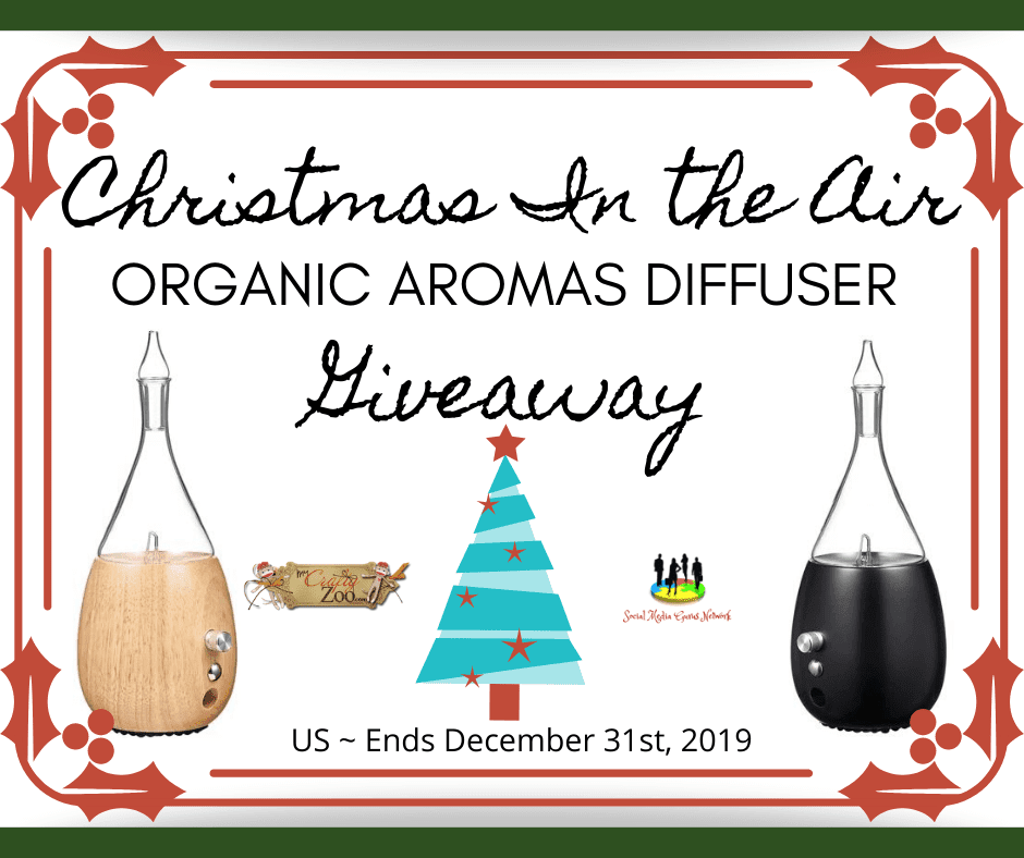 Organic Aromatic Diffuser Giveaway