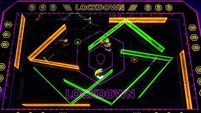 Laser League Game Screenshot 2