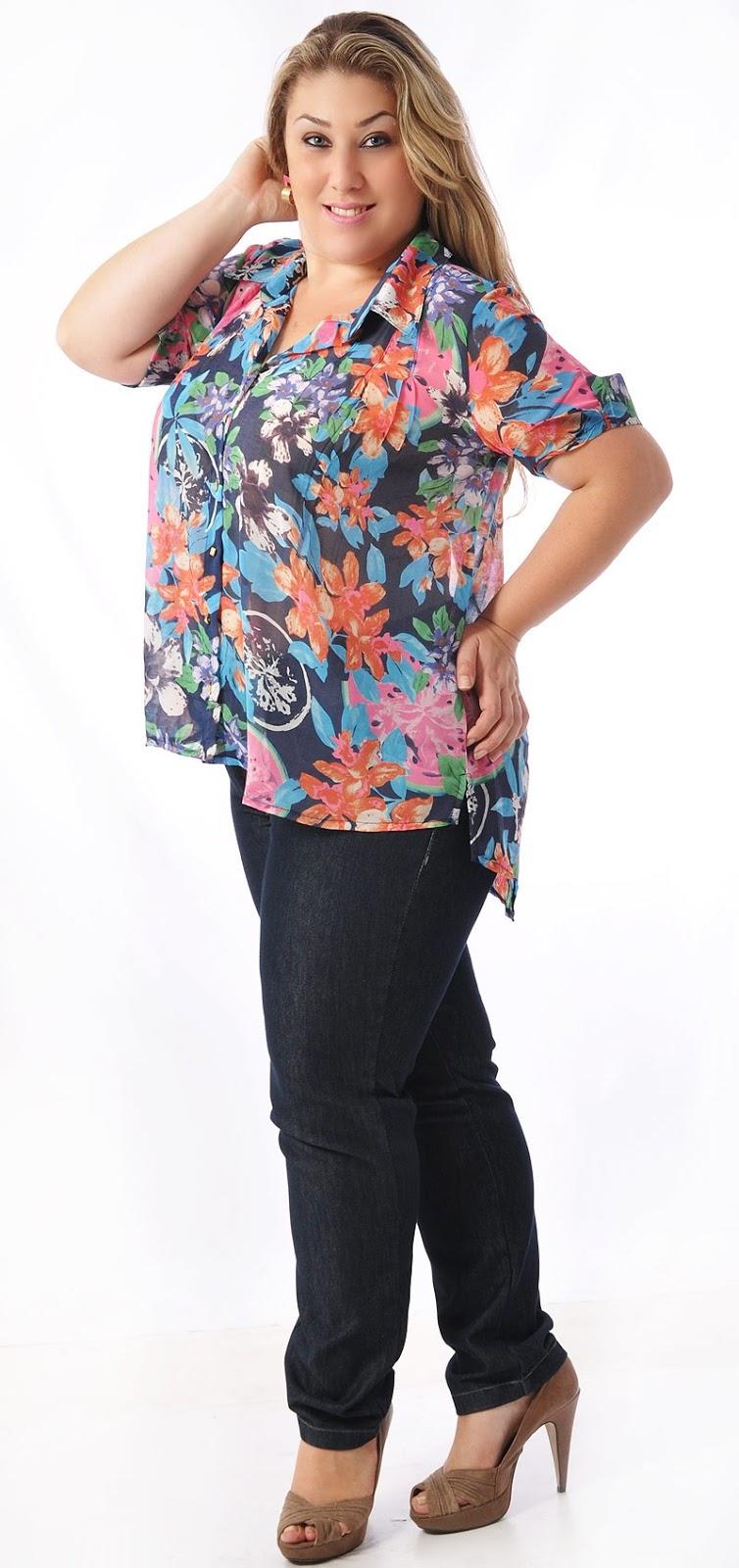 c587633e75d8 Moda Feminina Tamanhos Grandes: Moda Grande Loja Online