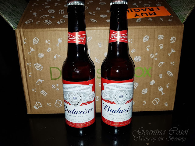 Cerveza Budweiser Caja Degustabox - Septiembre ´17
