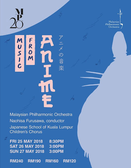 "[Upcoming Event] ""Music From Anime"" by Malaysia Philharmonic Orchestra"