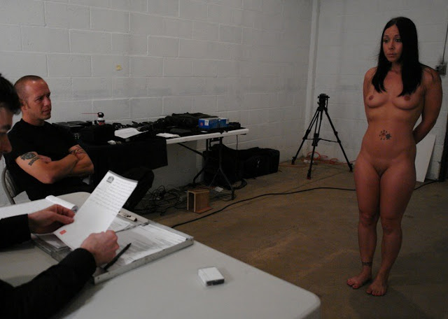 naked female prisoner prison jail interrogatory