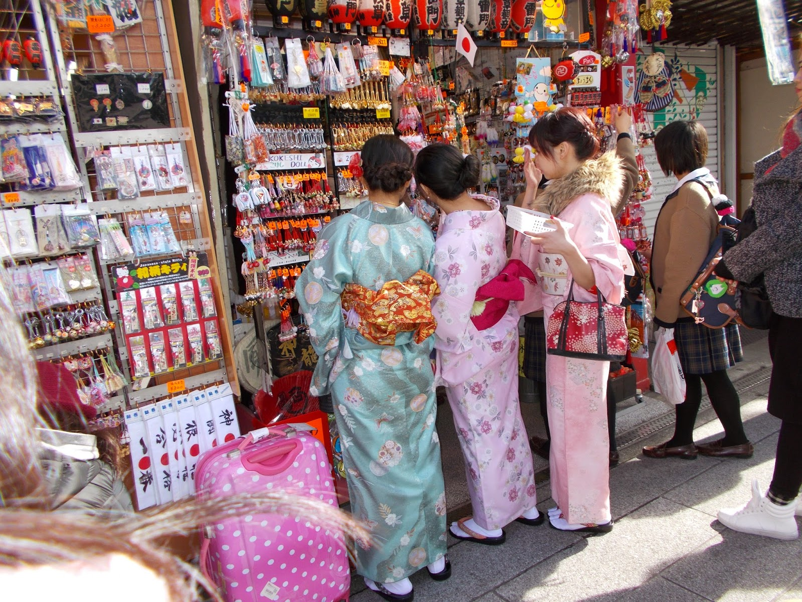 photo Japon voyage japonaises en kimono