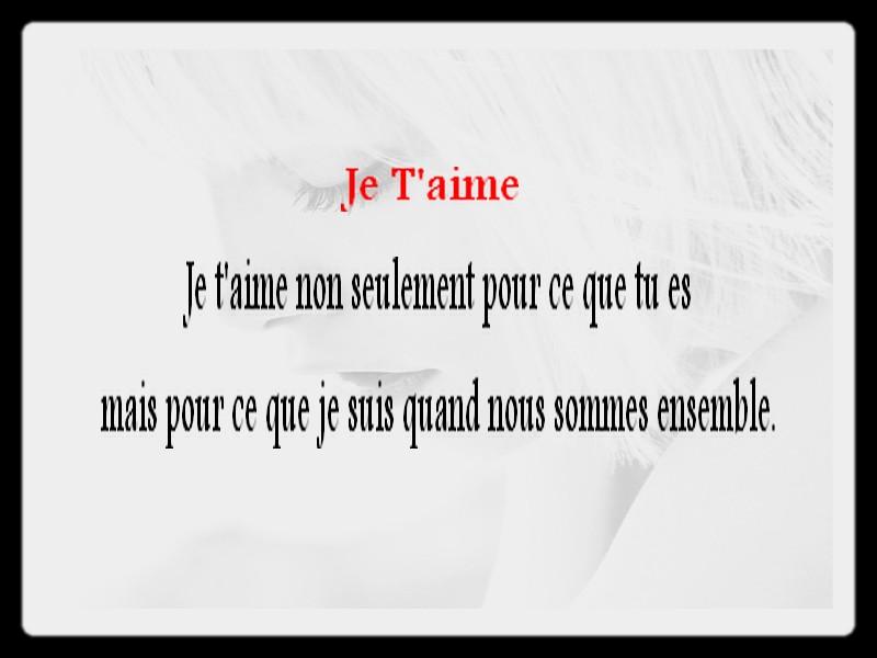 Des po mes en images po mes et textes d 39 amour 2018 - Citation d amour courte ...
