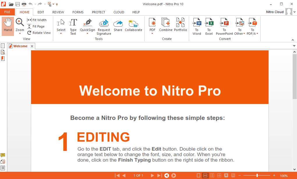reduce pdf size nitro pro