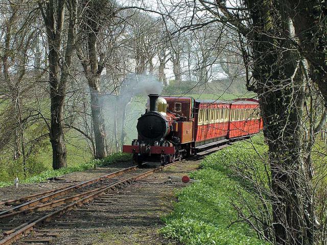Старинная железная дорога на острове Мэн