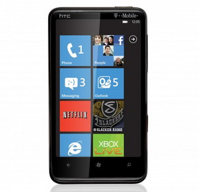 T-Mobile HTC HD7 Windows Phone in stores Nov 8th for $199