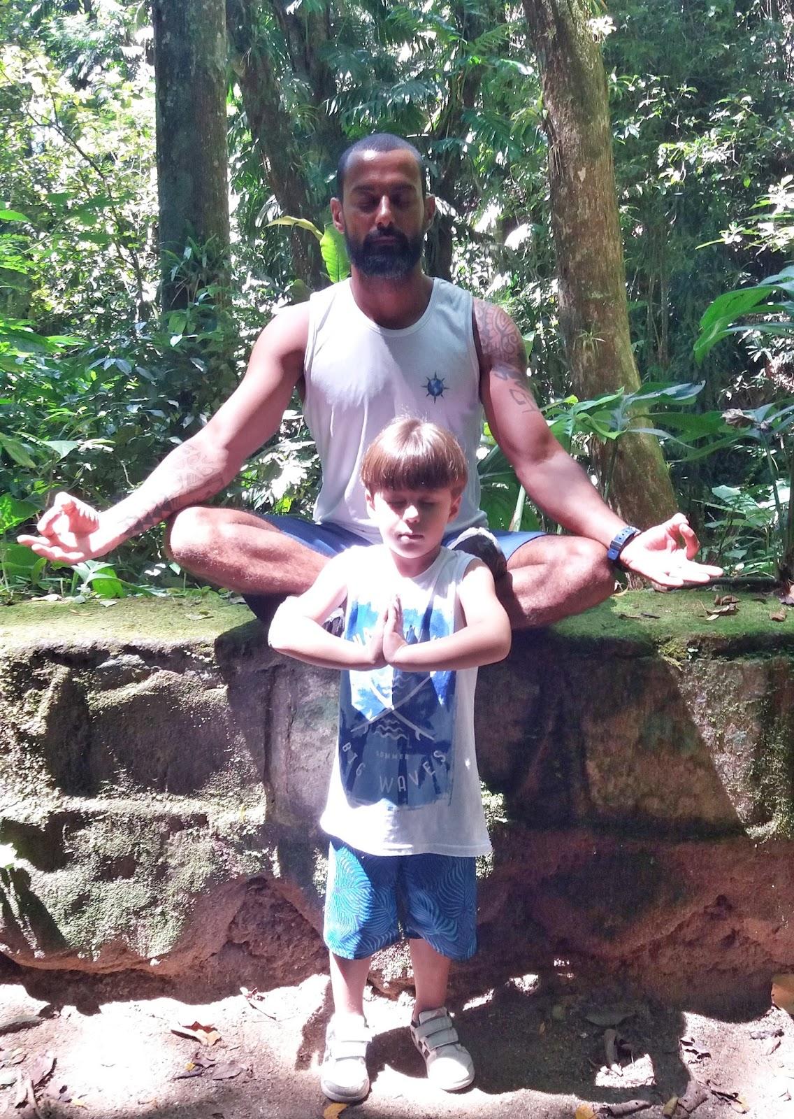 Edson Junior e Guilherme Barbosa, filho de Simone Barbsa