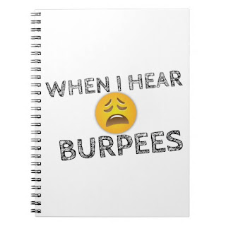 "Oh man you know you hate those dang burpees, so we bring you the ""My Face When I Hear Burpees' upset emoji design. Features a scratched lettering and a very sad emoji face. Style Athletics"