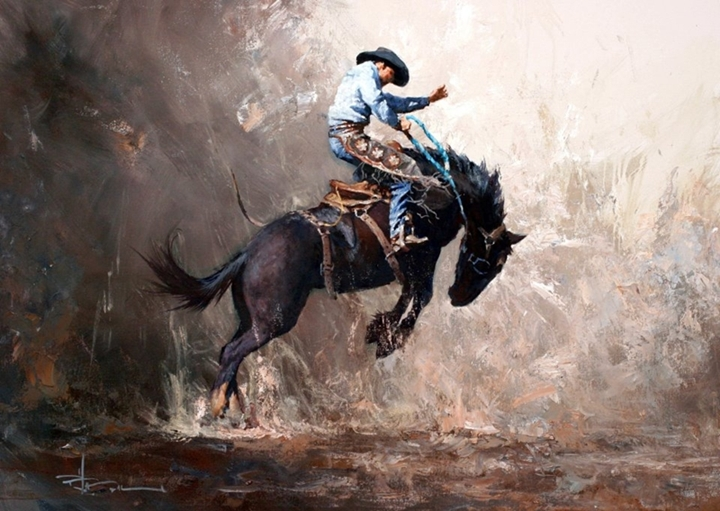 robert hagan 1947 western painting tutt 39 art