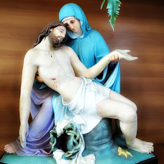 Pietá na Igreja Santa Teresa, Vera Cruz (RS)