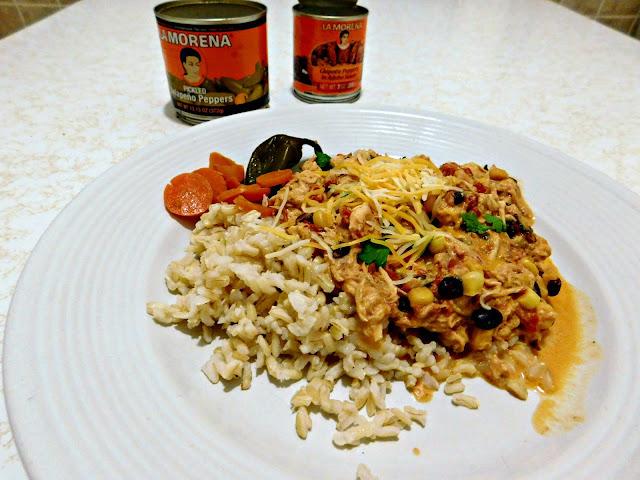 #VivaLaMorena Creamy Jalapeno Pulled Chicken #recipe