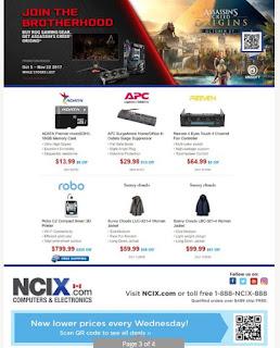 NCIX Ontario flyer November 1 - 8, 2017