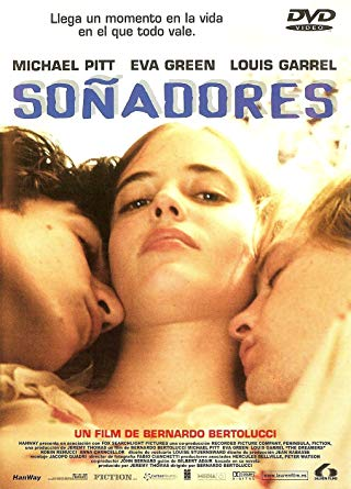"Louis Garret, Michael Pitt, Eva Green, ""The Dreamers"""