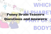 Funny Brain Teasers Questions and Answers