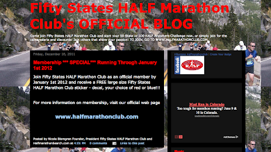 OFFICIAL BLOG FOR FIFTY STATES HALF MARATHON CLUB