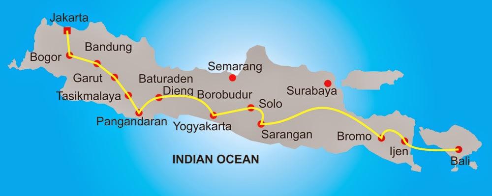 Info Wisata Java Bali Lombok Overland 14d