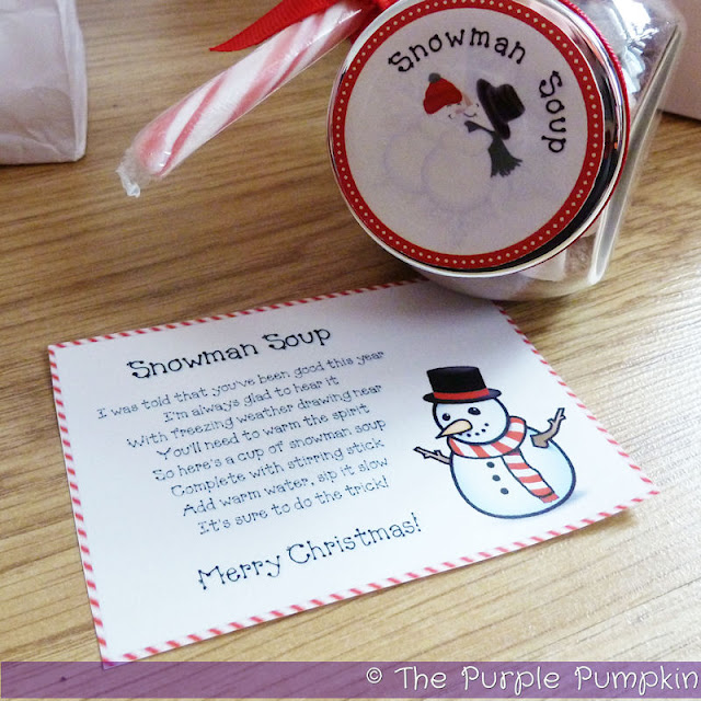 Give the gift of Snowman Soup   The Purple Pumpkin Blog