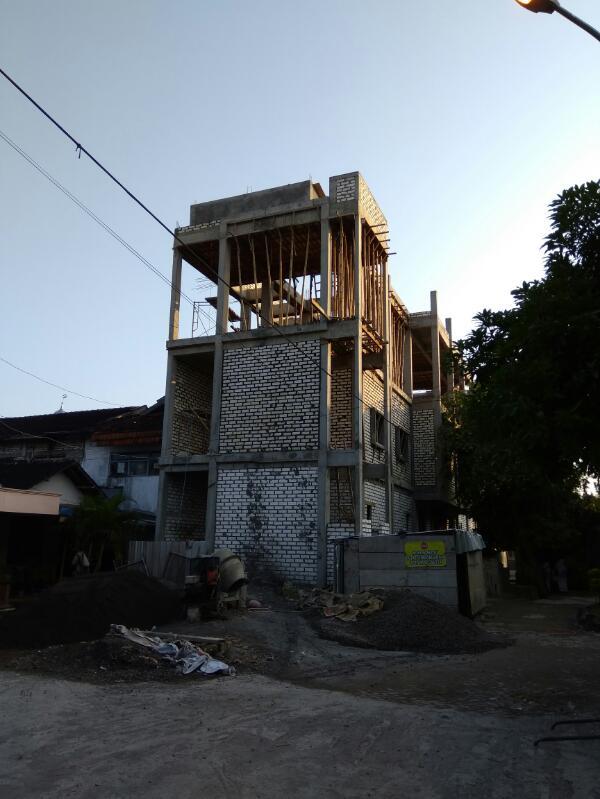 Update Pembangunan Asrama Santri Putri (16 April 2017)