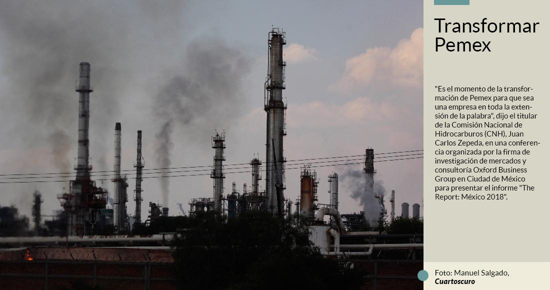 El regulador de energía del país recomienda a AMLO revivir Pemex y acabar con la dependencia a EU.
