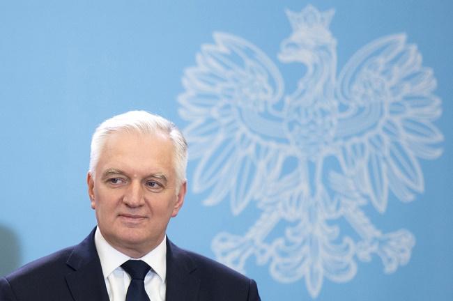 Minister Nauki i Szkolnictwa Wyższego Jarosław Gowin -  fot. P. Tracz Public domain