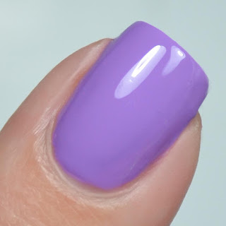 purple creme nail polish