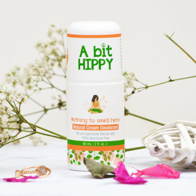 Little Known Box April 2017 Review A Bit Hippy Natural Cream Deodorant