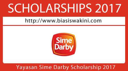 Yayasan Sime Darby-Undergraduate Scholarship 2017