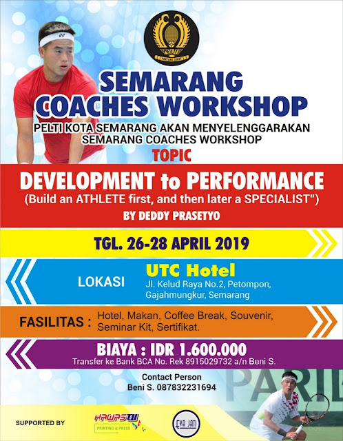 Tennis Coaches Workshop: Development to Performance