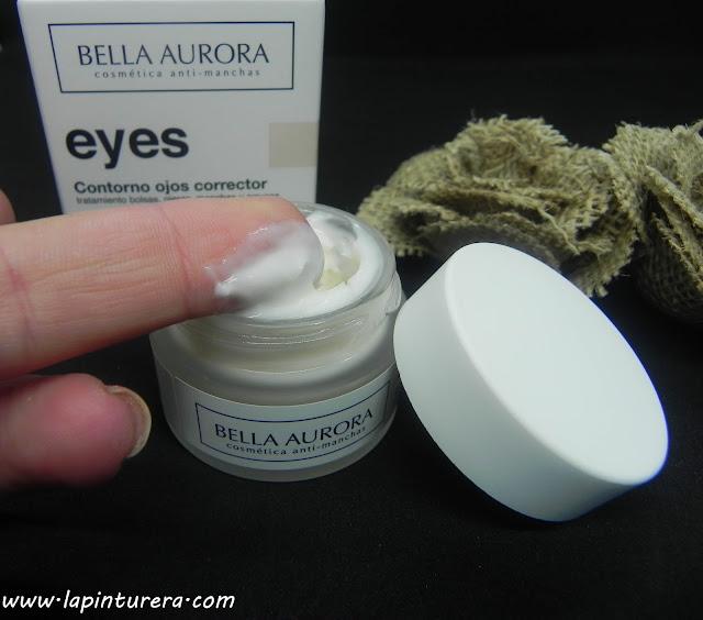 contorno de ojos textura