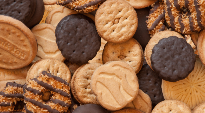 girl scout cookie recipes   how to make girl scout cookies
