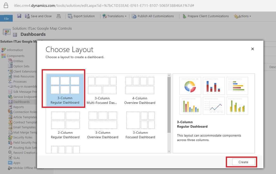 Dynamics 365 Google Map Integration & Dashboards   Information