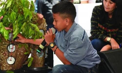 Naufal Raziq Temukan Listrik Dari Pohon Kedondong, Anak SMP Dari Aceh