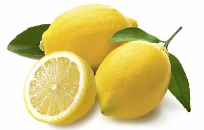 Clean Face Naturally with lemon