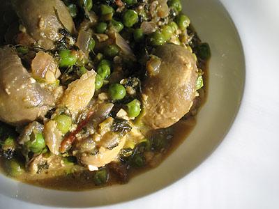 Indian mushroom curry