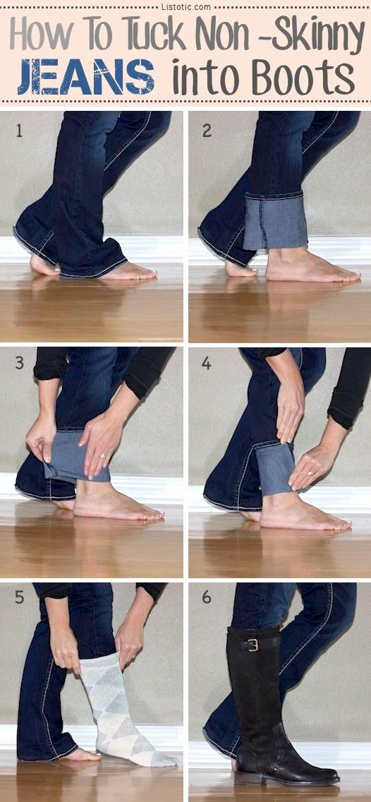 Sepatu Boots: Tips Memakai Boots Dengan Celana Jeans - IDEGAYA