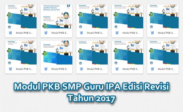 Modul PKB SMP Guru IPA Edisi Revisi Tahun 2017