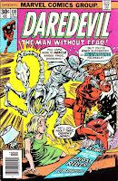 Daredevil v1 #138 marvel comic book cover