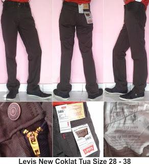 Celana Jeans Pria, Celana Jeans Coklat, Celana Jeans Murah, Celana Jeans Bandung