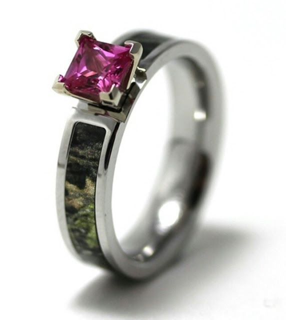 Cheap Camouflage Wedding Rings