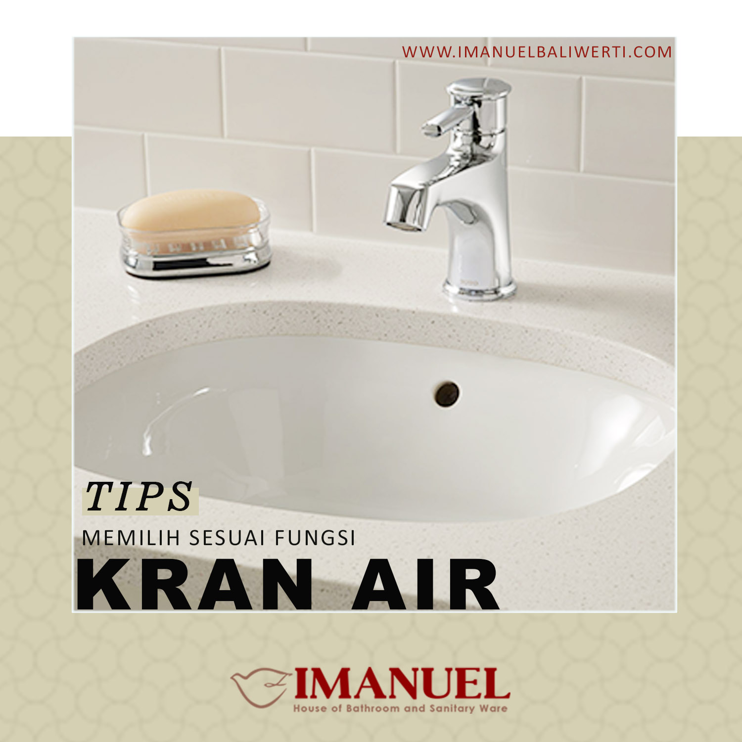 tips membeli kran air
