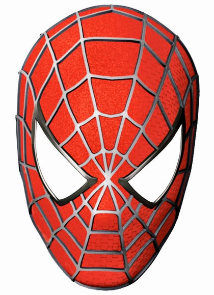 Il rifugio degli elfi le maschere dell 39 eroe for Disegni da stampare di spiderman