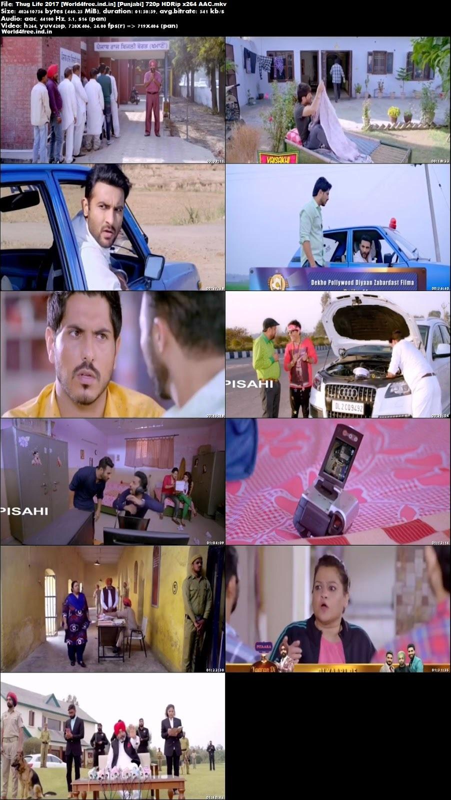 Thug Life 2017 world4free.ind.in HDRip 720p Full Punjabi Movie Download