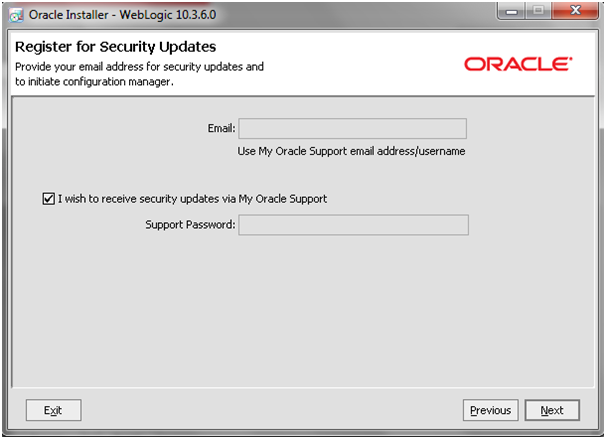 SOA 11g - Weblogic 10 3 6 Installation on Windows 7 64 bit - Oracle