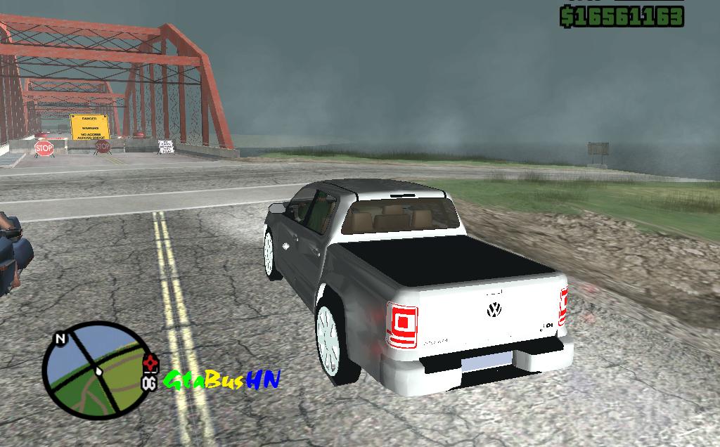 Grand Theft Auto Bus Honduras Volkswagen Amarok