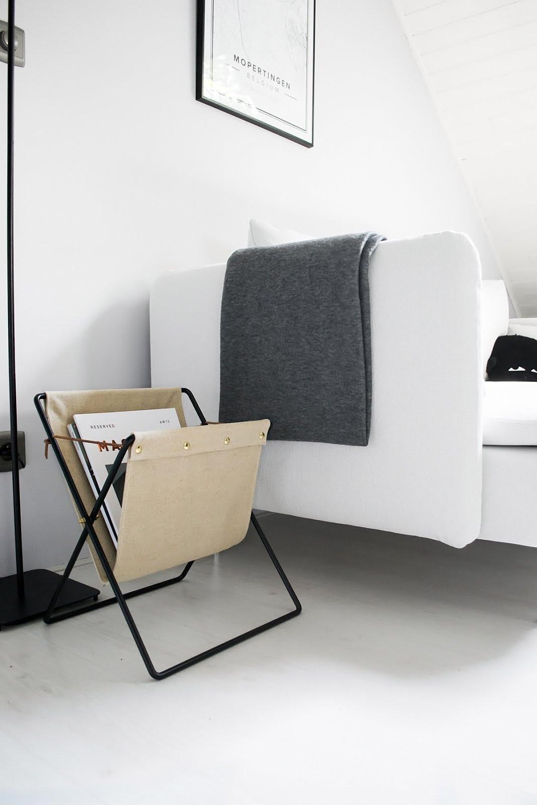 Ferm living, magazine holder, herman, tijdschriften houder, interior design, minimal