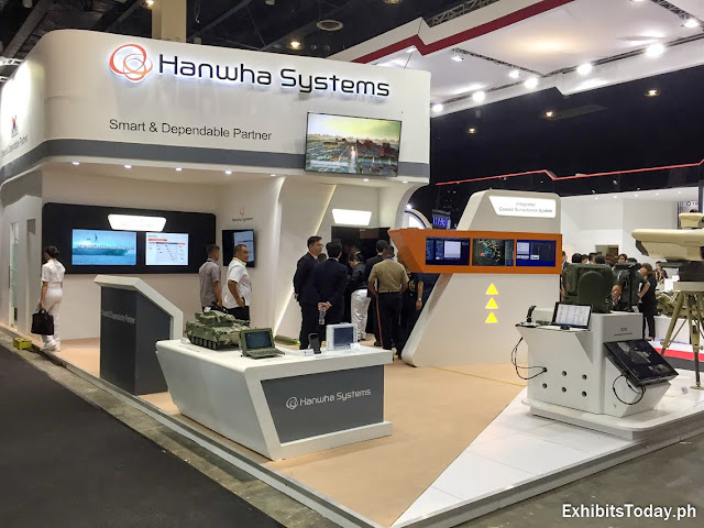 Hanwha Systems Trade Show Display