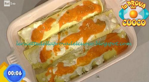 Scrippelle con pecorino pomodori e maggiorana ricetta Improta da Prova del Cuoco
